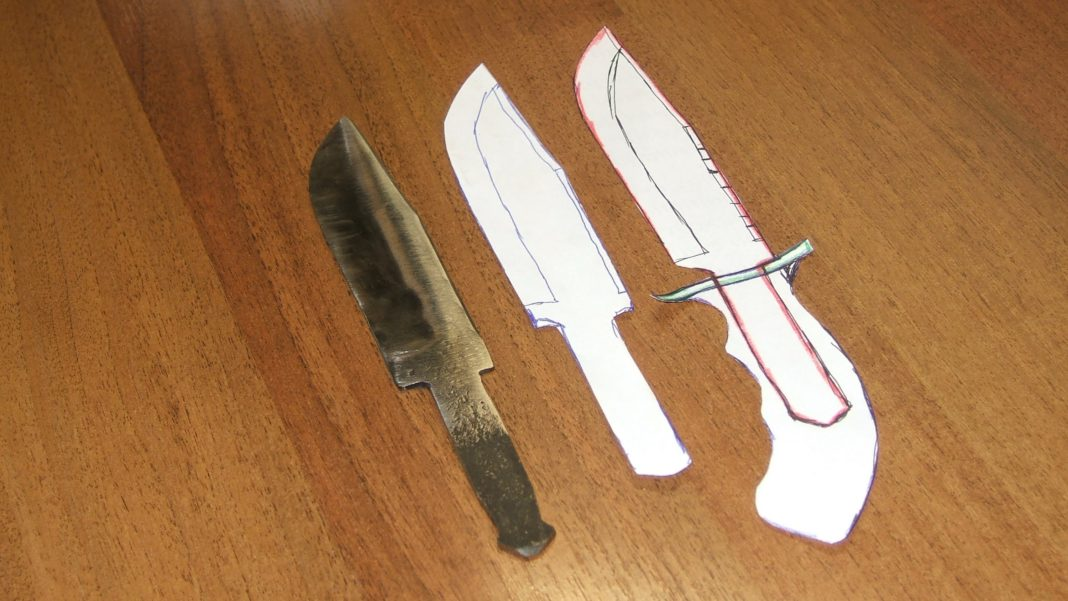Охотничий нож сделать своими руками