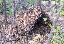 stroitelstvo ukrytiya v lesu