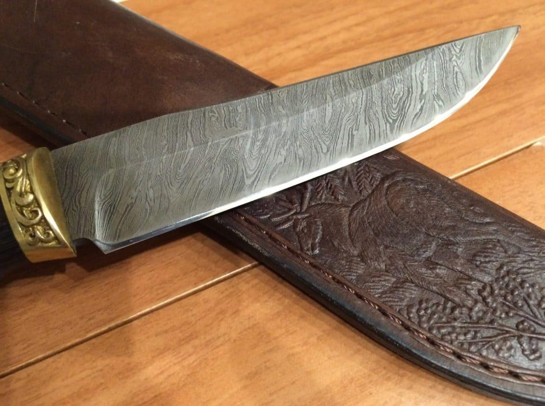 Как правильно заточить охотничий нож