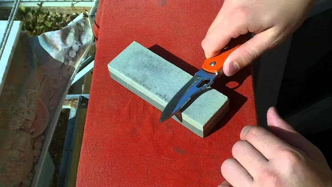 Правильно заточить нож