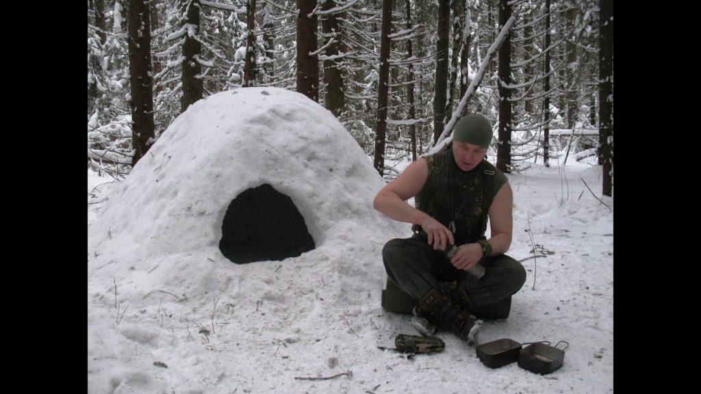 Как выжить в зимнем лесу