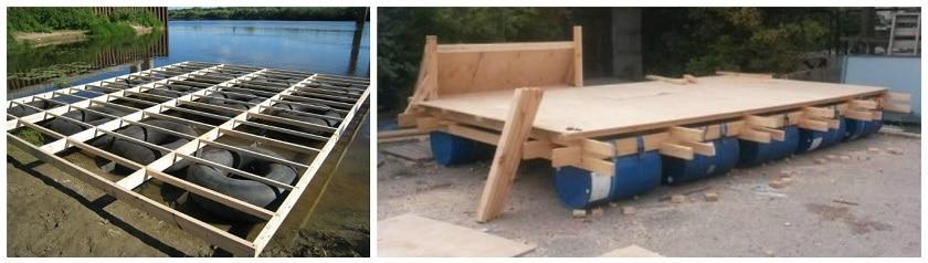 как построить плот для сплава