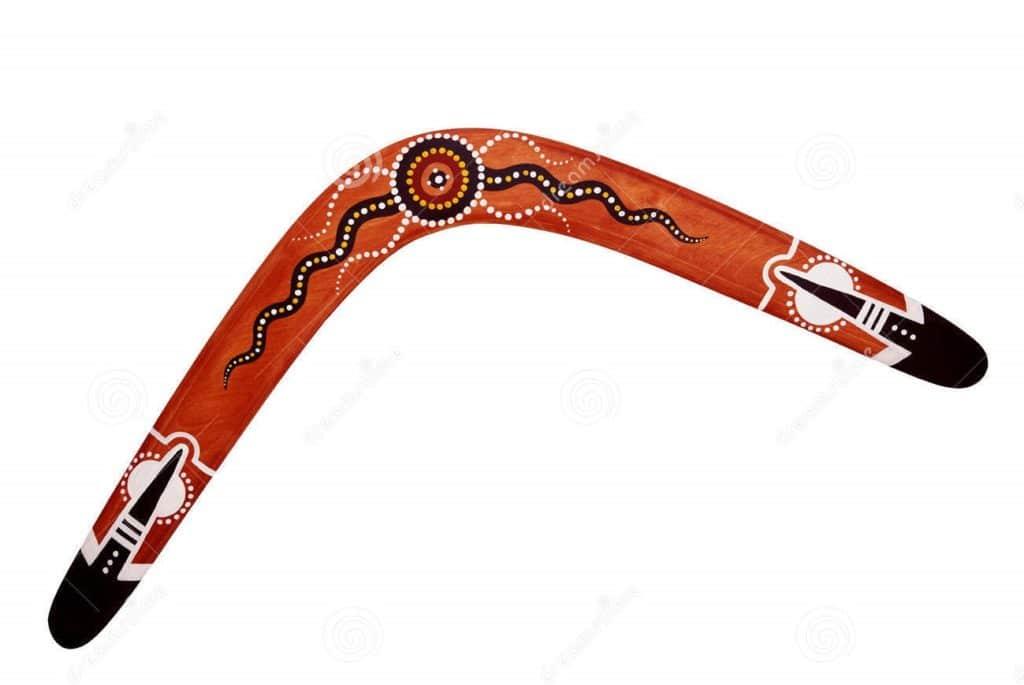 Классический австралийский бумеранг