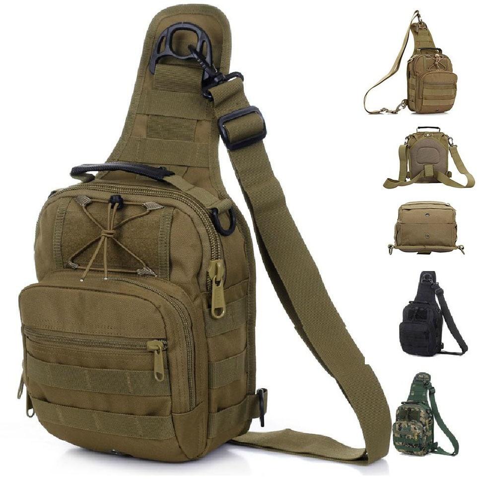 Тактическая сумка с системой молле