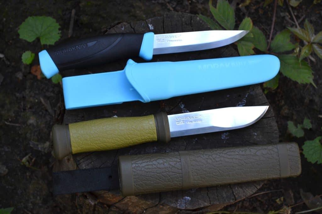 Охотничий и туристический ножи
