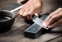 Ручная заточка кухонного ножа