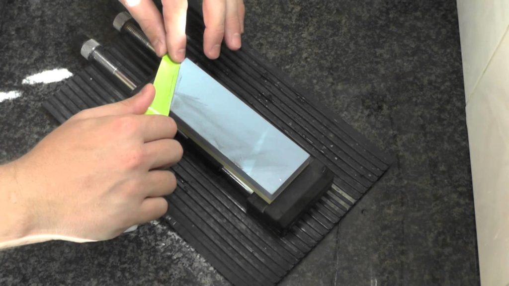 Заточка керамического ножна