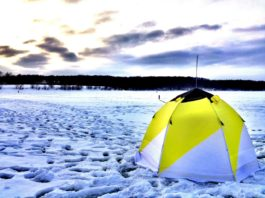 Утепление палатки зимой