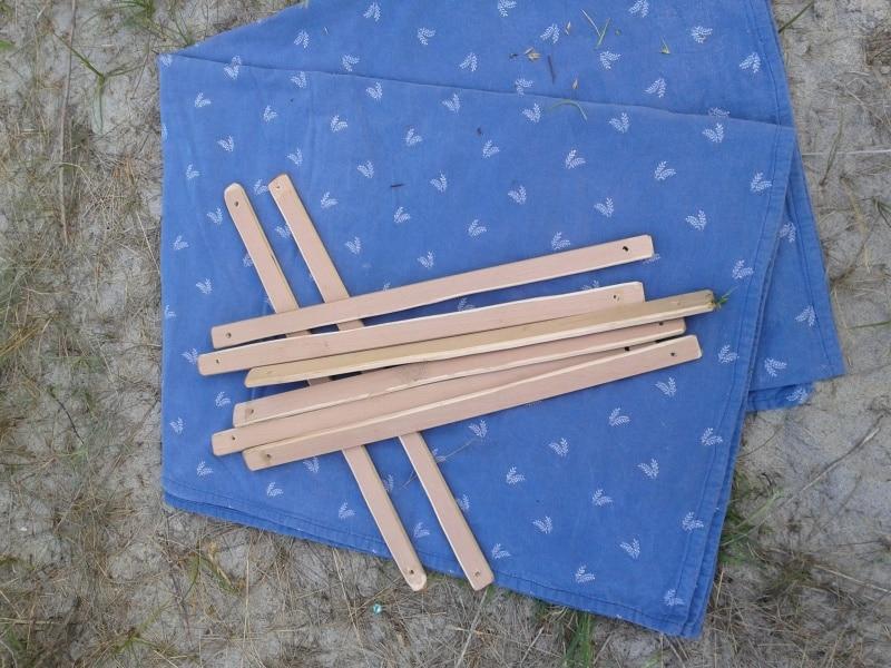 деревянные колышки