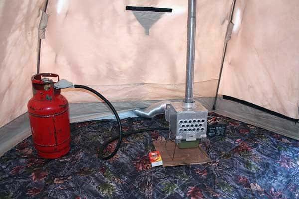 самодельная газовая печка