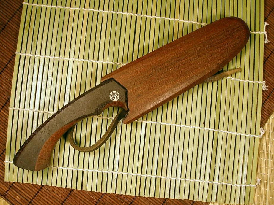 Ножны деревянные