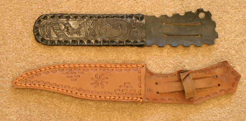 кожаные ножны