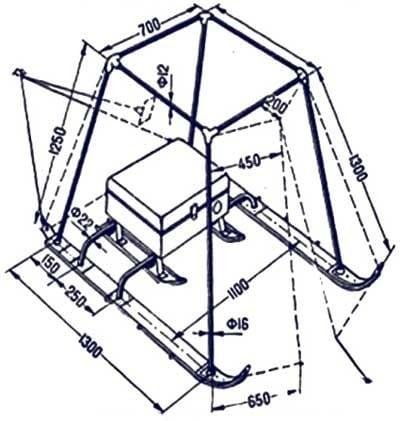 Схема зимней палатки