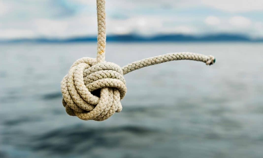 Как вяжется морской узел
