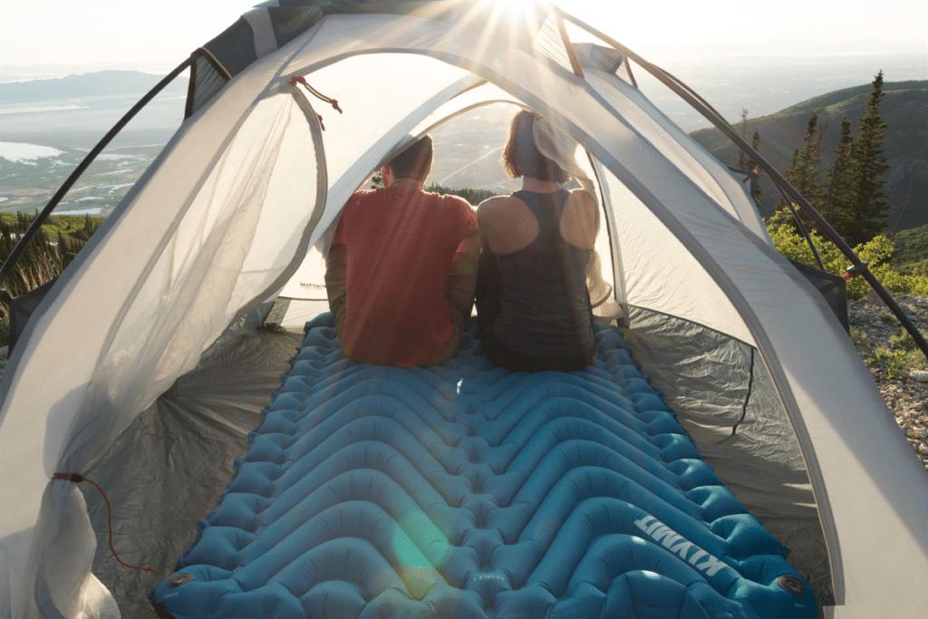 Двухместный туристический коврик