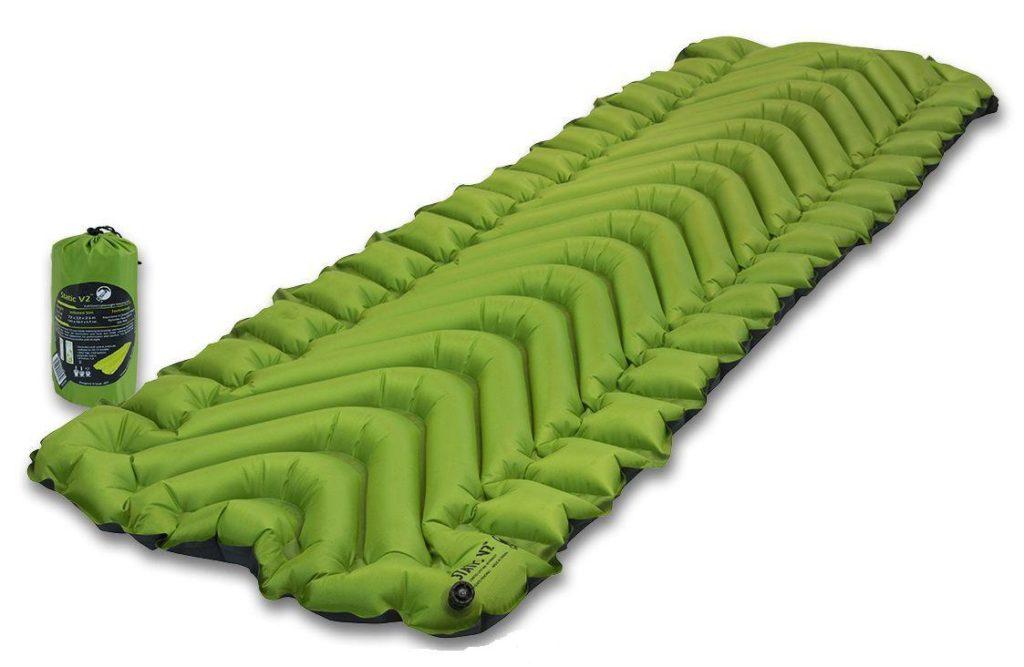 Надувные туристические коврики