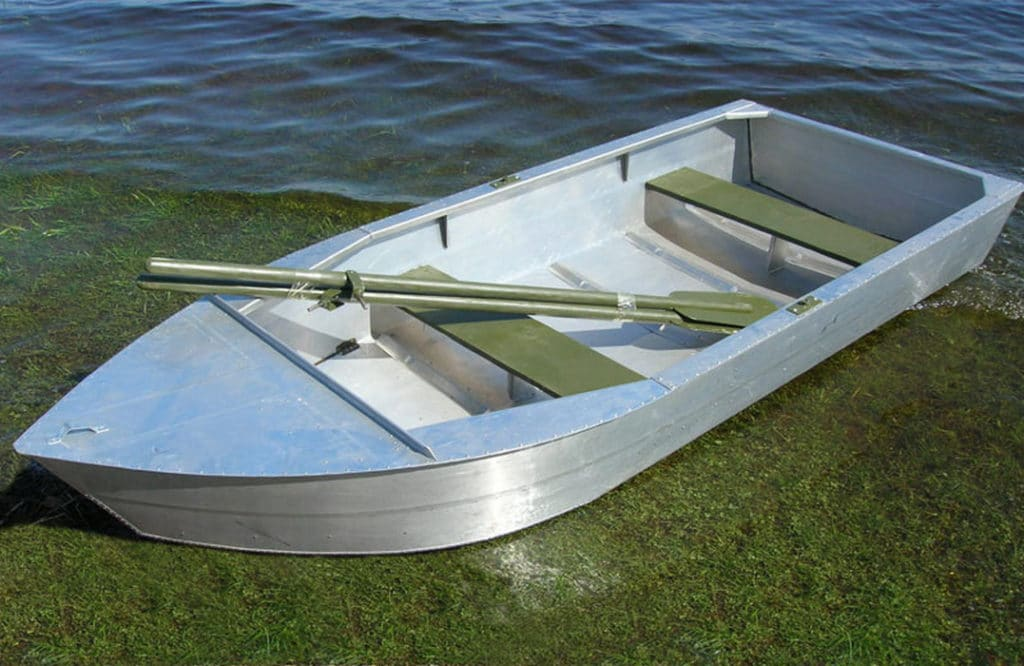 Алюминиевая лодка своими руками видео фото 71
