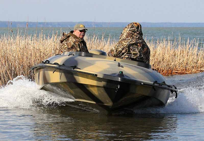 охотничья лодка