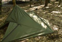 Палатка из тента