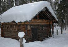 зимовье в тайге