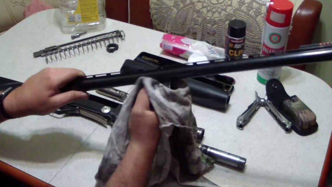 Как чистить ружье