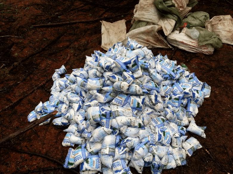 Соль в лесу